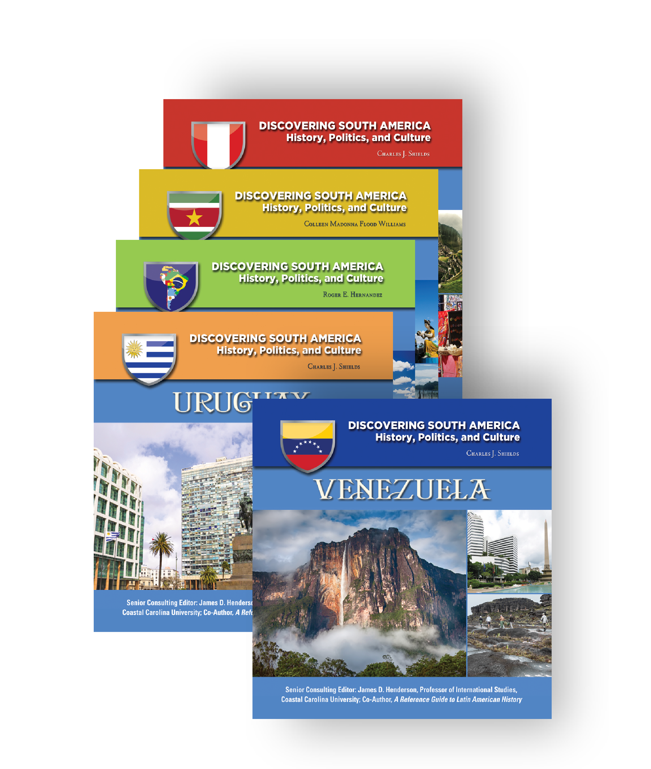 discovering south america history politics and culture series 13