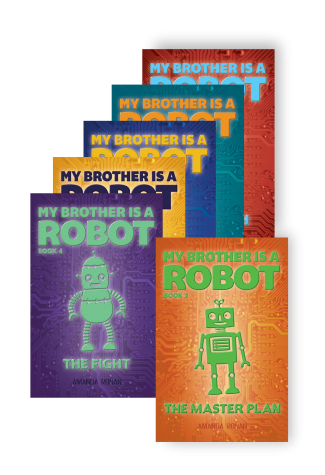 My Brother Is A Robot Series Covers