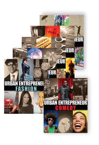 Urban Entrepeneur Series Covers