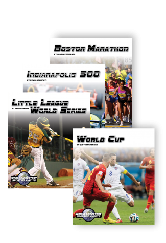 World's Greatest Sporting Events Series Cover