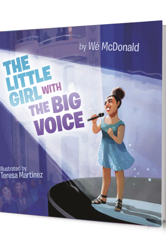 The Little Girl with the Big Voice - NBC's The Voice Wé McDonald wrote a children's book and published it with Lightswitch Learning